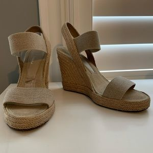 Browns Woven Wedges